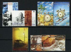 2004, Bosnien-Herzegowina (Republik), 337-38 u.a., ** - 2111000