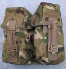 New British Army Issue MTP PLCE Webbing Twin Ammunition Pouch holds up yo 6 mags