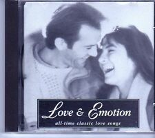 (EI351) Love & Emotion - All-Time Classic Love Songs - 1992 CD