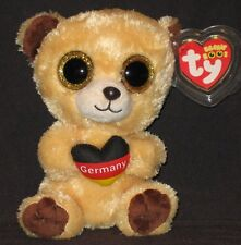 Ty Beanie Boos - Germany the Bear - Germany Exclusive - Mint with Mint Tags