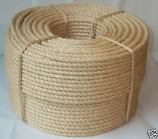 "1/4"" X 2500' Natural Sisal Rope Cat Scratching Post Claw Control Toy Crafts Pet"