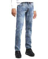 Levi's Mens 511 Jeans Blue 34x32 Zipper Fly Camo Slim Fit Stretch Denim $69 261