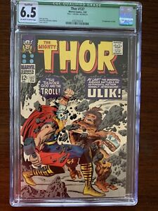 The Mighty Thor #137 CGC 6.5, Qualified, Green Label.  (Marvel 1967) 1st Ulik!
