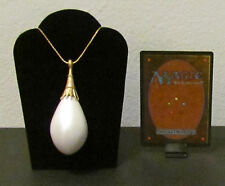 MTG Magic the Gathering - MOX PEARL Pendant / Necklace - Custom Very Nice