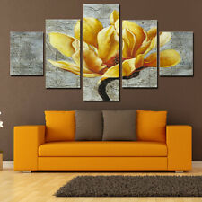 5Pcs Flower Modern Canvas Print Painting Wall Art Home Picture Decor Unframed