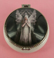 Fantasy Ceramic Trinket Box-Only Love Remains - 5.5 x 2.5cms - Collectable - AU