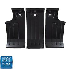 1964-67 GM A Body Cars Trunk Floor Sections - 3 Piece Set