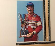 1988 TERRY LABONTE #11 BUDWEISER / BABY RUTH POSTCARD Winner First Union 400