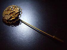 Steampunk watchmovement Lapel Pin