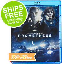 Prometheus (Blu-ray 2012) NEW, Sci-Fi, Michael Fassbender, Alien Covenant, Shaw