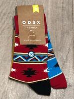 36-40 The Aztec ODSX Multi Colour Odd Socks Tribal Navaho Sneaker