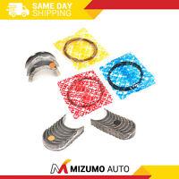 Piston Rings Main Rod Bearings Fit 83-93 Ford Probe Mazda 626 MX6 2.0L 2.2L