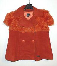 Miss Sixty Short Sleeve Jacket Waistcoat Coat Wool Jacket Orange Size L/40, NEW VK 219 €