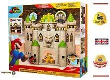 "Nintendo Super Mario Deluxe Bowser's Castle Playset 3 2.5"" Action Figure  UK"