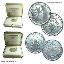 MORUZZI - Vaticano 5 e 10 euro commemorativi 2017 FS in argento