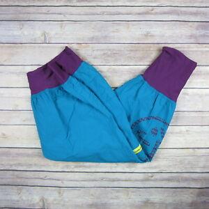 ZUMBA Women's Dance Pants SIZE S Small Blue & Purple