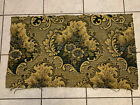 "Beautiful Piece Antique 19c Wool Ingrain Scotch Carpet Rug Remnant 35""x 20"" (g)"