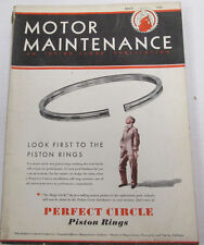 Motor Maintenance Magazine  Equipment For Motor Cars  May 1931  100914lm-e