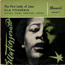 "ELLA FITZGERALD the first lady of jazz 7""EP 1958 Brunswick germany"