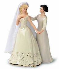 Lenox A Mother's Loving Touch (Blond) Bride & Mom Wedding Figurine New In Box