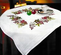 """""""Christmas Miracle"""" Tablecloth Kit for Embroidery Duftin 5074"""