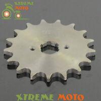 17T 20mm Front Engine Sprocket Retainer Plate Locker 520 Chain Dirt Bike Enduro