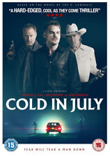Cold in July DVD (2014) Michael C. Hall ***NEW***