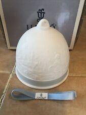 Lladro Campana Invierno Winter Bell Ornament #17616 W/box & ribbon