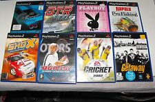 Shox-GT-R 400-The Getaway-Gran Turismo-Playboy 8 x Bulk Lot For PS2