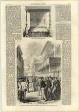 1866 Venice commissari polizia commettendo CURA PER LA GUARDIA CIVICA