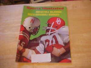 Irresistible Oklahoma Meets Immovable Nebraska  Nov. 22, 1971 Sports Illustrated