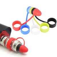 Universal Silicone Vape Band Rings Mouthpiece Dust Cap Cover RTA RDA Tank ,