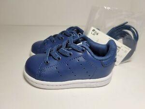 Adidas Originals Stan Smith Infant Sneakers Night Marine Blue (TD) #EF4929 Sz 4K