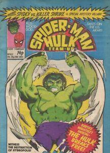 Spider-Man and Hulk Weekly #437 / 1980