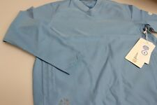 Boys/Girls Ashworth Golf Wind / Water Resistant Long Sleeved Golf Top Mid Blue M