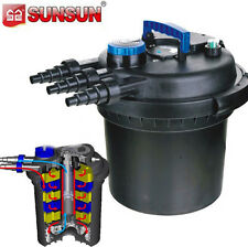 5000 Gallon Pressurized 18 Watts UV Bio Koi Pond Filter w/ Easy Backwash