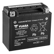 Yuasa Battery YUAM620BH YTX20HL-BS  YTX20HLBS