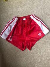 LIVERPOOL Adidas Nylon Sprinter Shorts Glanz Vintage Football Retro Gym Running
