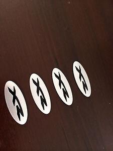 4 x XR WHEEL CENTER BADGE FOR BA/BF/FG/TERRITORY-SX SY SZ FACTORY WHEEL CAP