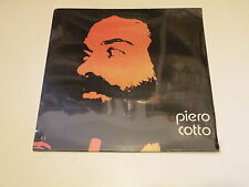 PIERO COTTO - Piero Cotto - LP 1978 ELEVEN RECORDS ITALY PARZIALMENTE SIGILLATO