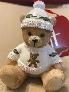 Harrods 2021 Resin Bear Christmas Ornament Decoration
