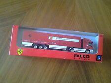 Scuderia Ferrari Team Truck IVECO Stralis exklusives LKW Sammlermodell  neu OVP