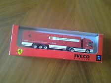 Scuderia Ferrari Team Truck IVECO Stralis exklusives LKW Sammlermodel 1:87