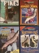 Pike Fishing Strategies Lure Locations Trophy Patterns 4 DVD Lot NEW