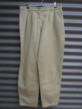 Can't Tear 'Em Men's Fawn Work Pants Stretch Waist Size 18