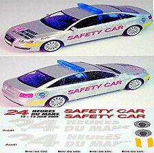 Audi S 6 Le Mans 2004 Safety Car 1:43 Decal Abziehbilder