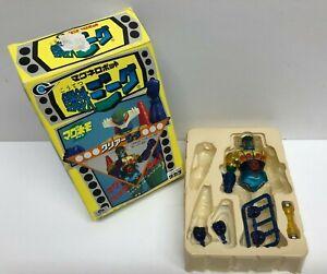 Steel Jeeg Clear Version 1998 Takara Magnet Robot Chogokin Box & Parts Lot