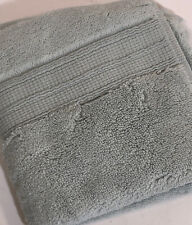 Pottery Barn Hydrocotton Wash Cloth Porcelain Blue 100% Cotton Quick Drying NEW