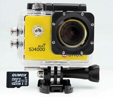 QUMOX WIFI SJ4000 Y Camera Action Sport Caméra Appareil HD 1080p + 32GB MicroSD