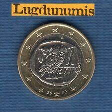 Grèce 2002 1 euro Lettre S SPL  provenant d'un rouleau - Greece
